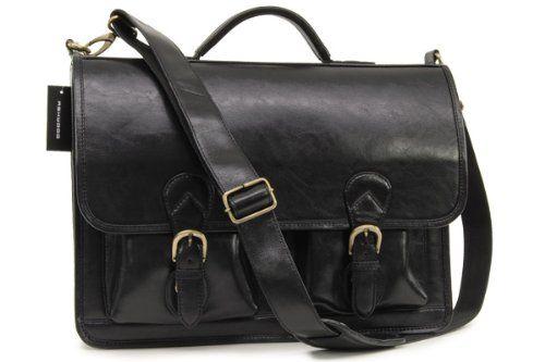 Портфель Ashwood Leather Chelsea 8190 Black