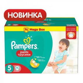 Трусики-подгузники Pampers Pants 5 (12-18 кг) 96 шт