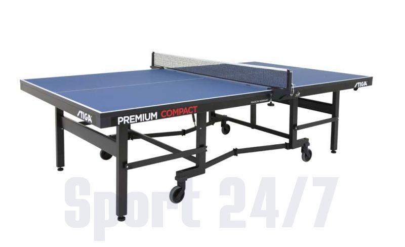 Теннисный стол профессиональный Stiga Premium Compact W (25 мм), ITTF 7197-06