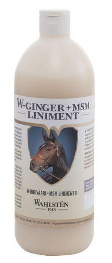 W-Inkivääri+MSM linimetti. Линимент двойной с имбирем и МСМ для суставов и снятия теплового стресса.