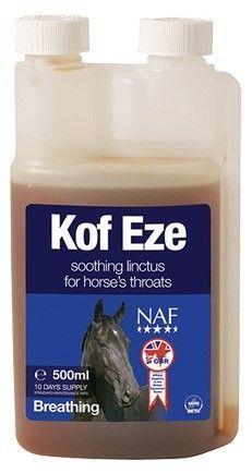 NAF Kof Eze. Микстура от кашля. 500 мл