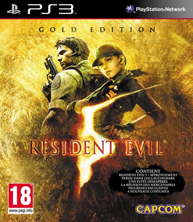 Игра Resident Evil 5 (PS3)