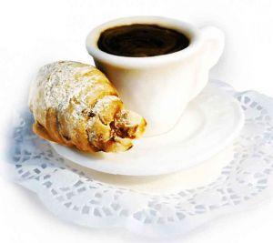 """Мыло """"Чашка кофе с круассаном"""""""