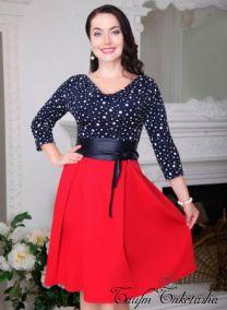 Платье Ля мод (с поясом)