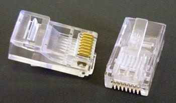 (rdtv) Коннектор 8p8c ( RJ45 ) JETT (105-108)