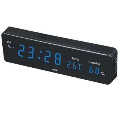 Часы эл. VST805S-5 син.цифры