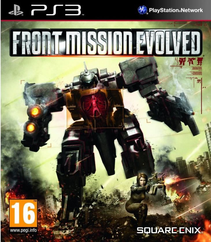Игра Front Mission Evolved (PS3)