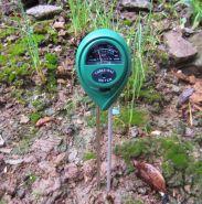 Измеритель рН кислотности почвы 3 в 1