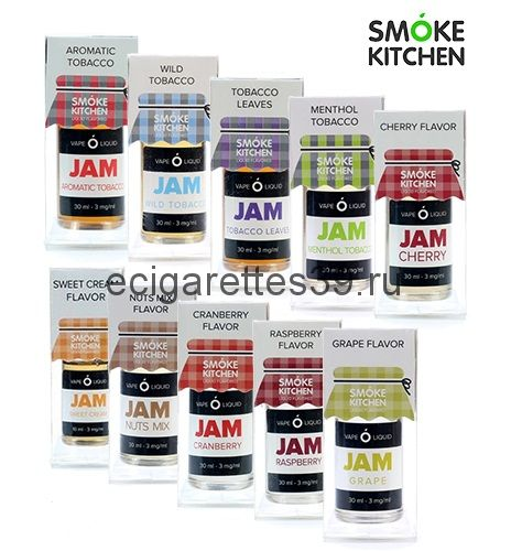 Жидкость Smoke Kitchen JAM (никотин 3 мг.)