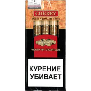 Handelsgold Black Wood Tip Cigarilos*5