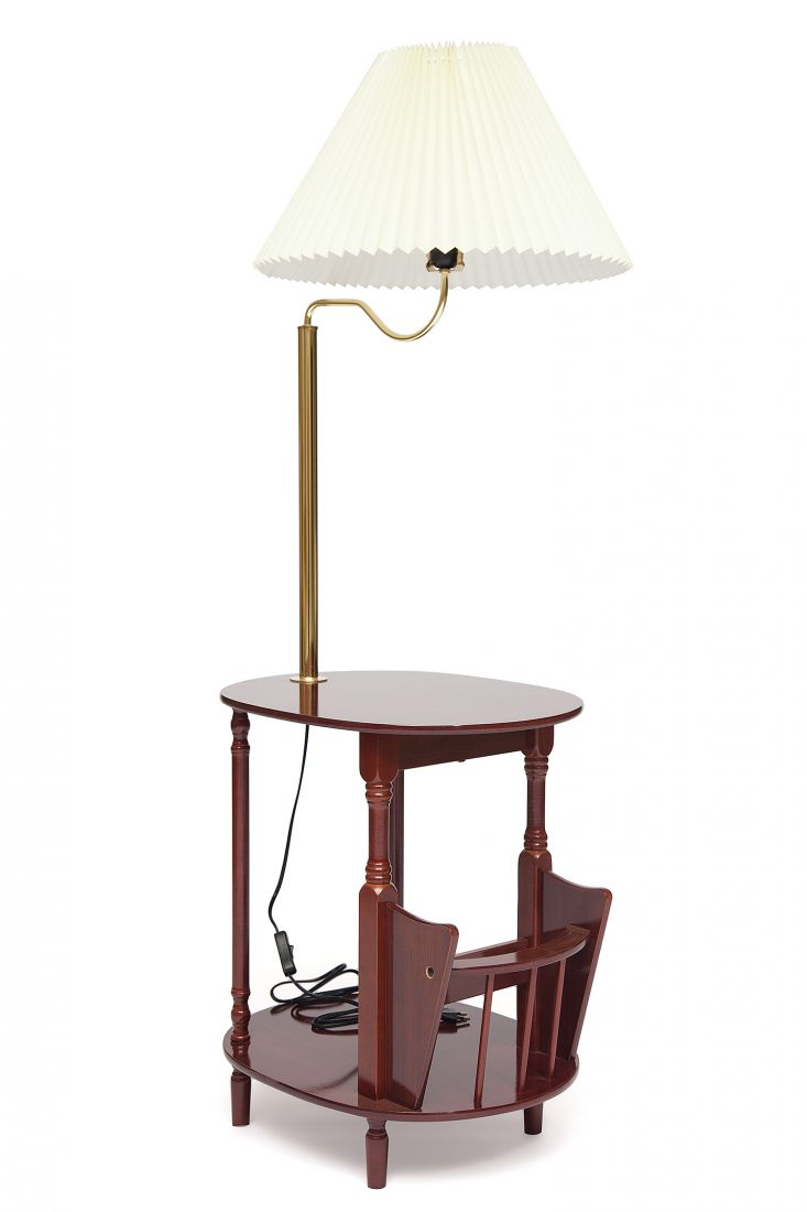 Торшер со столиком Бета