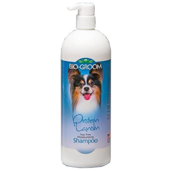 Шампунь BioGroom Protein/Lanolin Shampoo протеиново-ланолиновый для собак 946мл