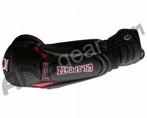 Налокотники GI Sportz Paintball - Black/Red