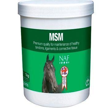 NAF МСМ Powder. Cера  Для мышц, копыт и суставов и сухожилий. 1 кг
