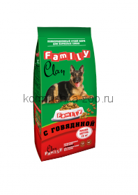 Clan Family для собак с говядиной