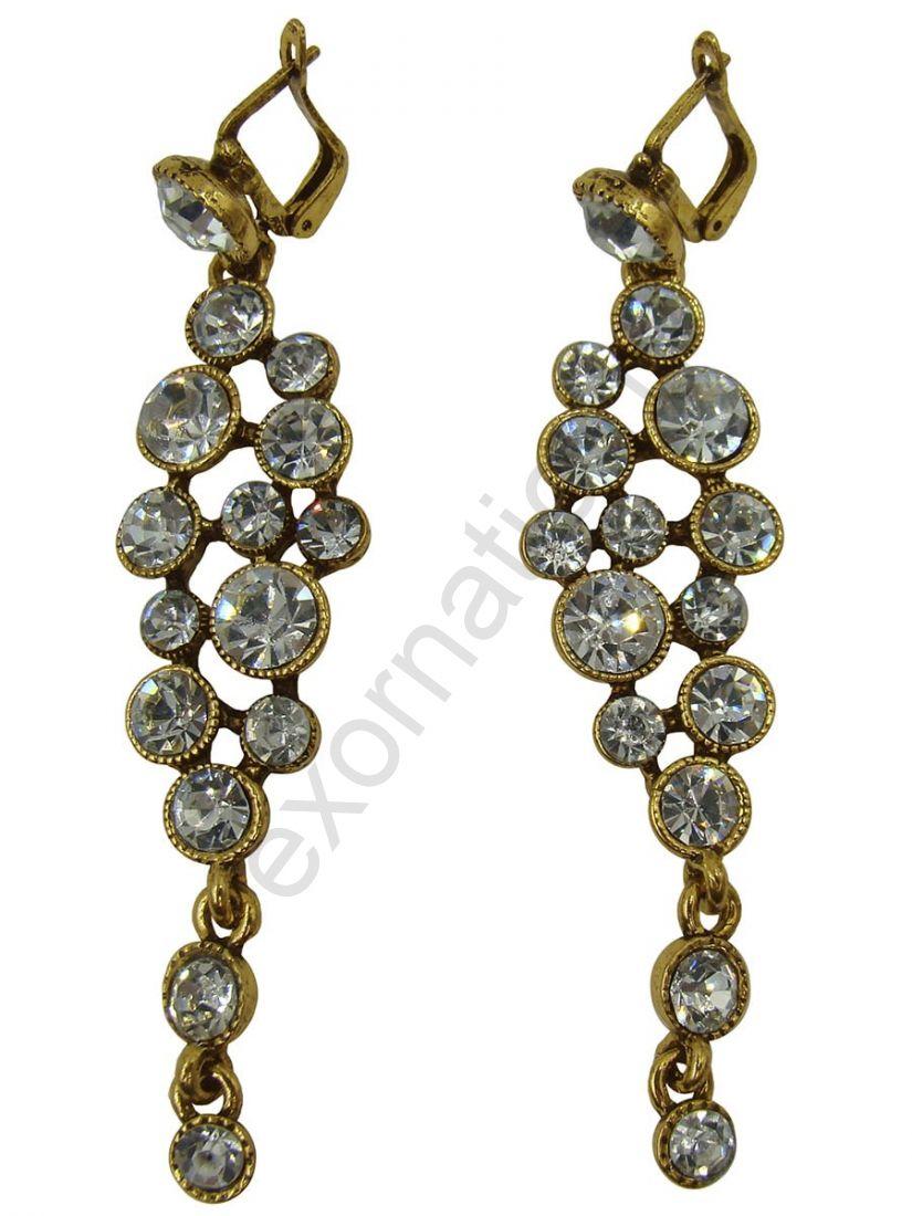 Серьги Taya LX. T-B-9508-EARR-GOLD