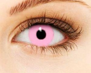 Линза розовая