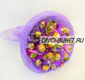 """Букет из конфет №647 """"Лаванда"""""""