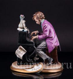 Пианист, Capodimonte, Италия, сер. 20 в