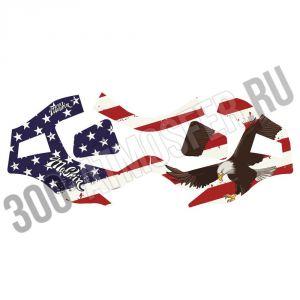 Наклейка MaSkin для V-Force Grill - American Eagle