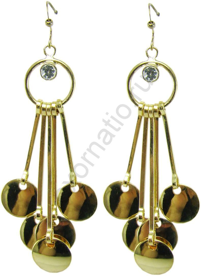 Серьги Taya LX. T-B-5991-EARR-GOLD