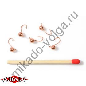 Мормышка Mikado 02-350 / COPPER  уп.=5 шт.