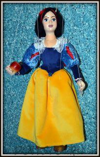 Коллекционная кукла-марионетка Белоснежка (Чехия, Praha, Hand Made, авторы  Ивета и Павел Новотные)