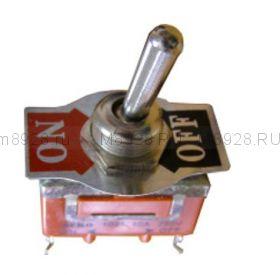 Тумблер 1021 ВКЛ-ВЫКЛ 16А 250в