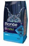 Monge Bwild Cat Anchovies Корм для взрослых кошек с анчоусами (1,5 кг)