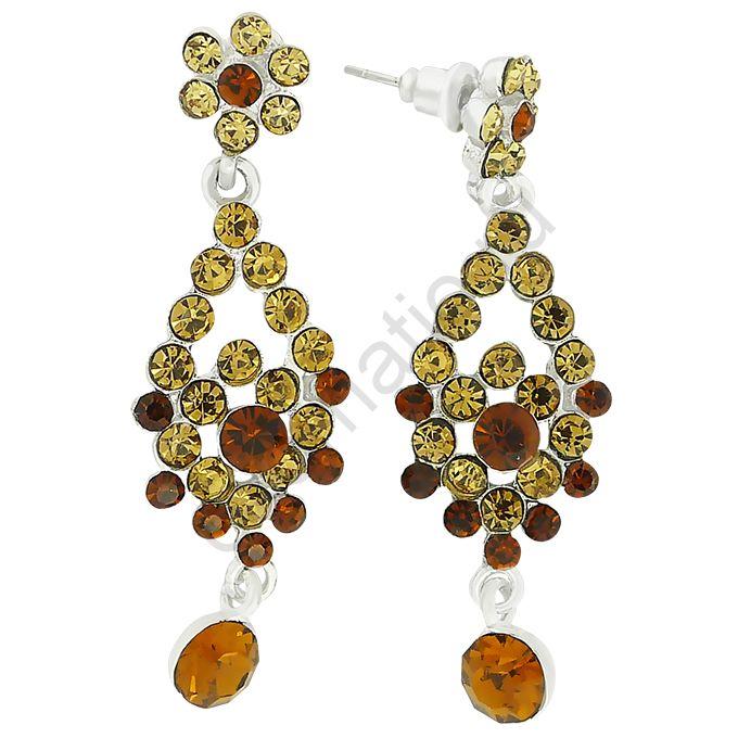 Серьги Mia Collection 25990-6640. Серьги под золото