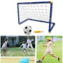 Футбольные ворота с сеткой + мяч с насосом.