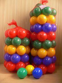 Набор шариков 8 см100 шт