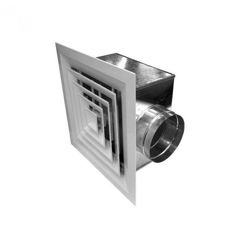 4АПР-Диффузоры с четырехсторонним распределением воздуха и регулятором расхода воздуха.(300х300мм)