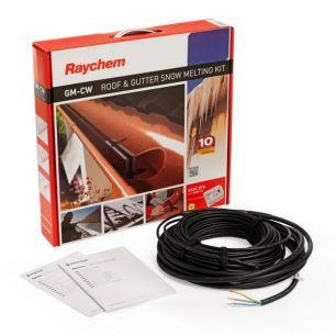 Греющий кабель для систем антиобледенения кровли и водостоков Raychem GM-2CW  180м