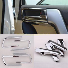 Накладки на ручки в салон Хром (Тип 4) для Toyota Land Cruiser Prado 150