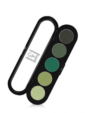 Make-Up Atelier Paris Palette Eyeshadows T29 Printemps Палитра теней для век №29 весенне - зеленые тона (весенние тона)