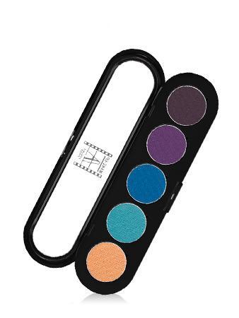 Make-Up Atelier Paris Palette Eyeshadows T21 Tropic Палитра теней для век №21 тропические тона (тропическая)