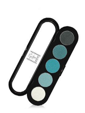 Make-Up Atelier Paris Palette Eyeshadows T11 Blue green tones Палитра теней для век №11 сине-зеленые тона