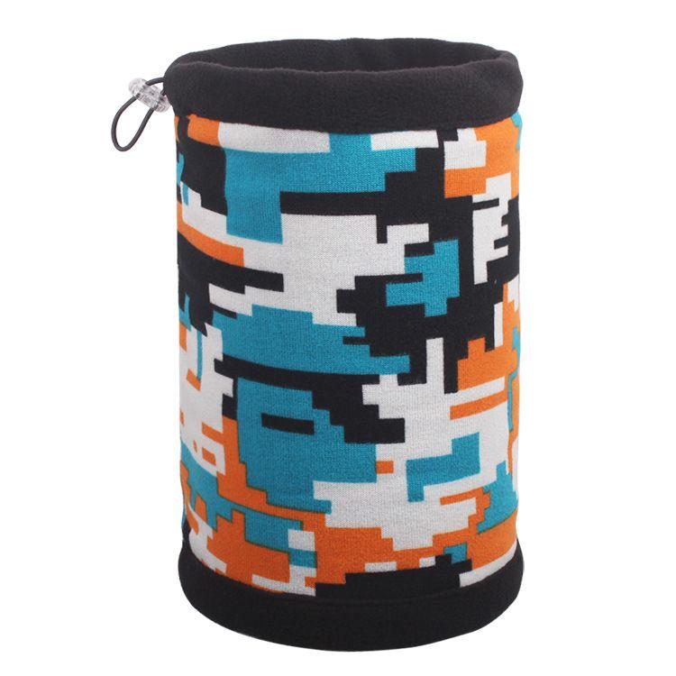 """Шапка шарф с """"Пиксели"""""""