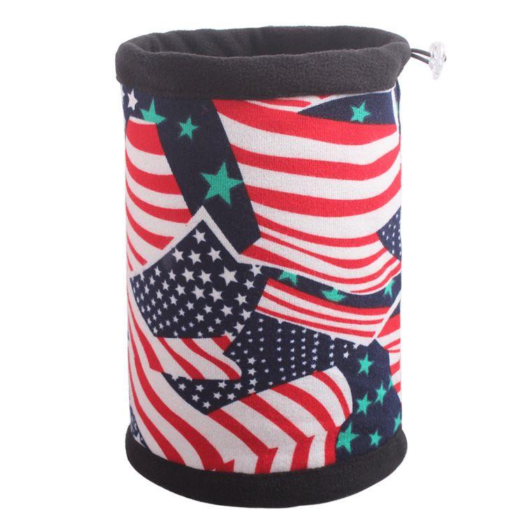 """Шапка-шарф """"Америка"""""""