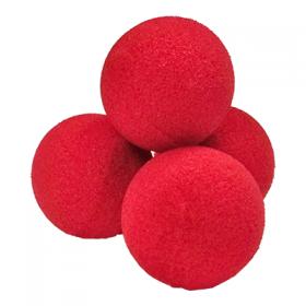 "2"" High Density Ultra Soft Sponge Ball (красные) от  Goshman (за 4 шт)"