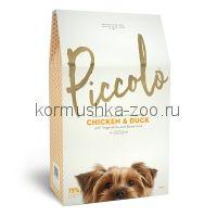 Piccolo Grain Free сухой корм для собак и щенков мелких пород (цыпленок/утка)