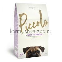 Piccolo Grain Free Senior/Light облегченный сухой корм для пожилых собак мелких пород (с цыпленком)