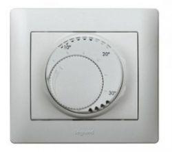 Терморегулятор Legrand Galea Life для теплых полов Titanium (арт.775690)