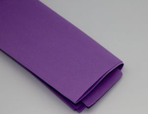 Фоамиран Иранский, толщина 1 мм, размер 60х70 см, цвет фиолетовый (1 уп = 5 листов)