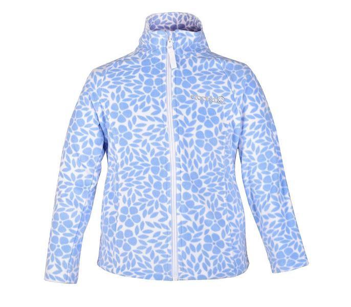 Куртка для девочки Светлые цветы