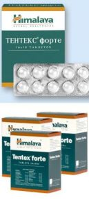 Тентекс форте таблетки для потенции,10шт
