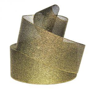 Лента металлизированная(парча) 50 мм, цвет: 3354 (Рулон 32,9 м)