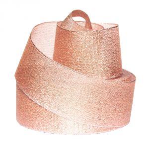 Лента металлизированная(парча) 50 мм, цвет: 3340 (Рулон 32,9 м)