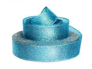 Лента металлизированная(парча) 25 мм, цвет: 3350 (Рулон 32,9 м)